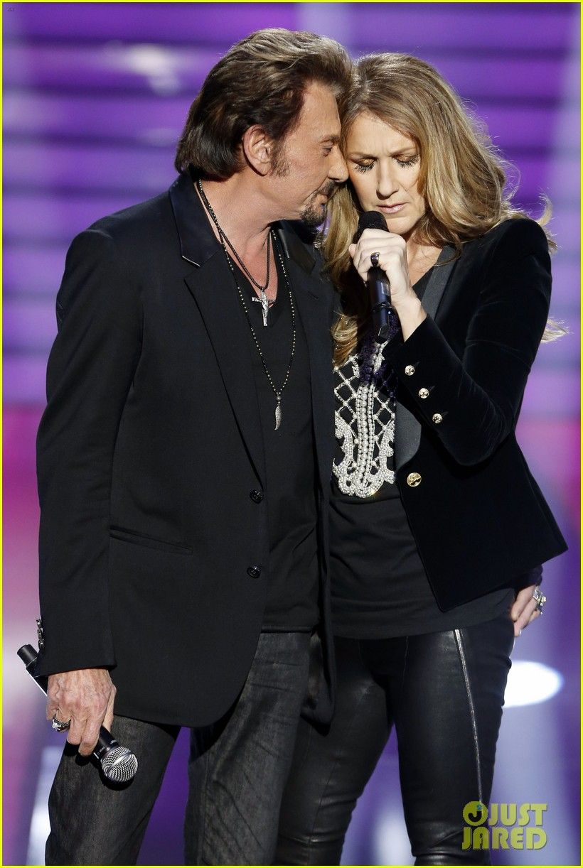 celine dion grand show duet with johnny hallyday 01