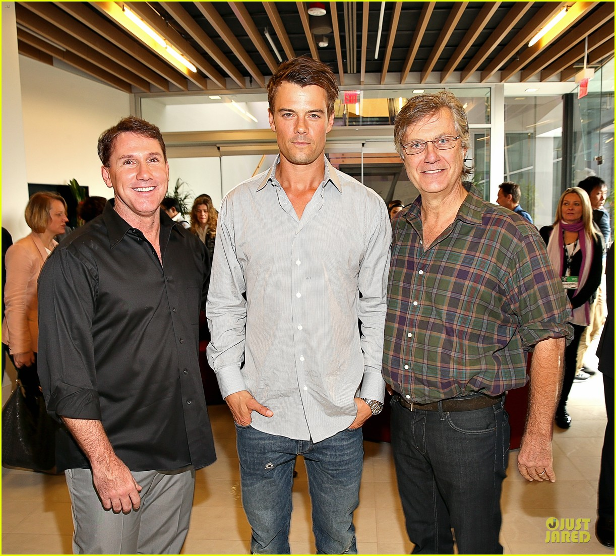 josh duhamel safe haven afi reception 04