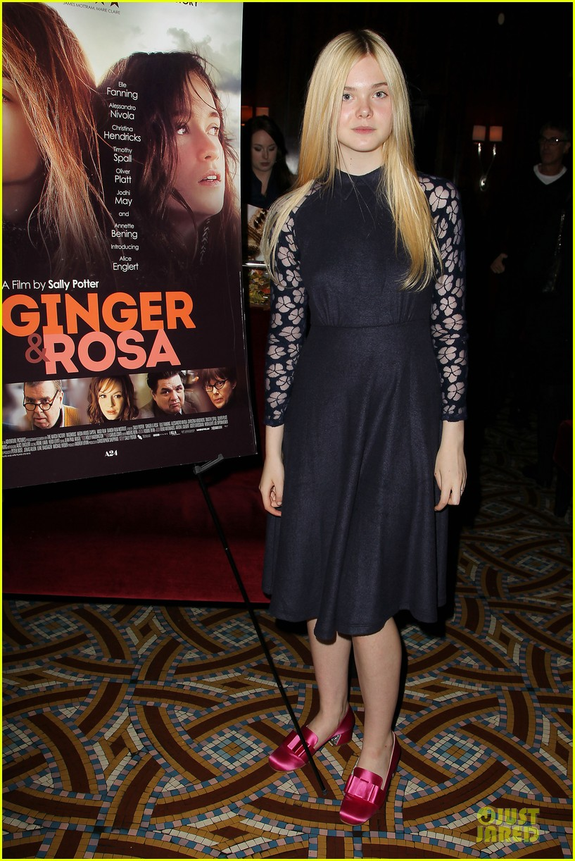 elle fanning ginger & rosa screening after party 062755570