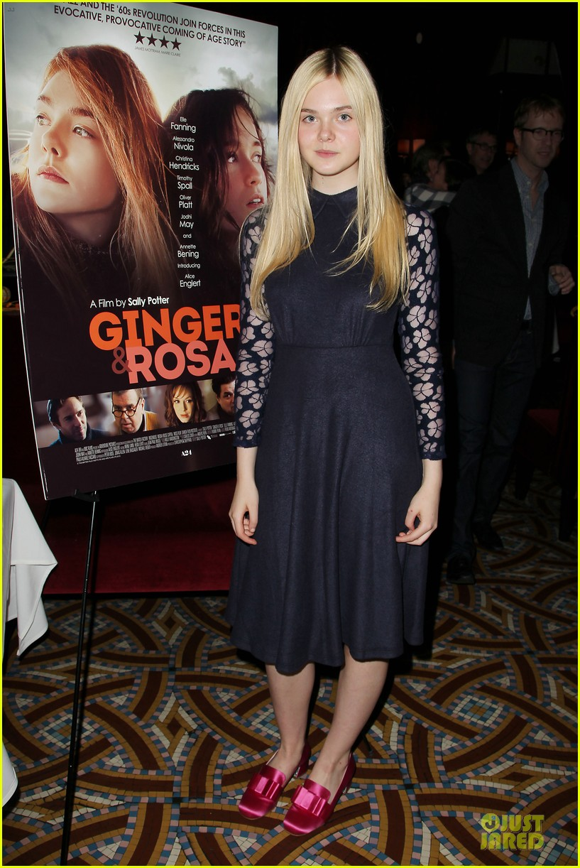 elle fanning ginger & rosa screening after party 07