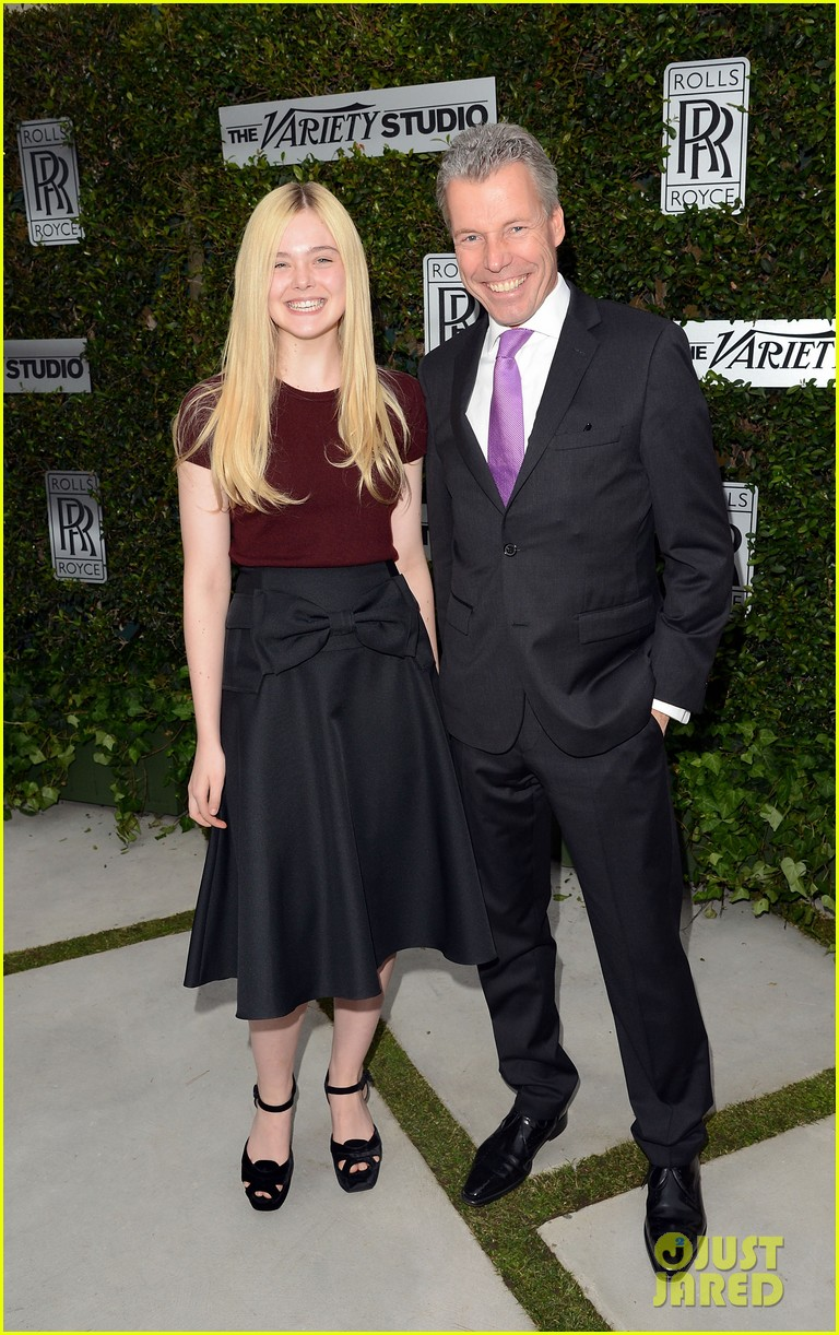elle fanning logan lerman variety studio awards edition 20