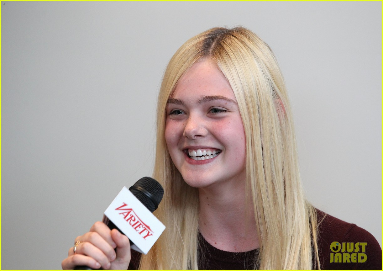 elle fanning logan lerman variety studio awards edition 30