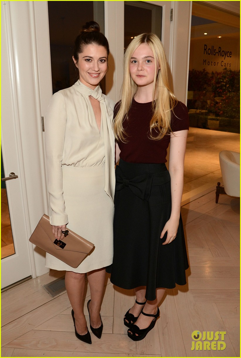 elle fanning logan lerman variety studio awards edition 35