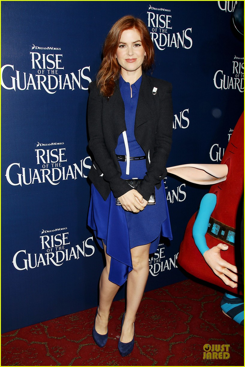 isla fisher rise of the guardians premiere 13