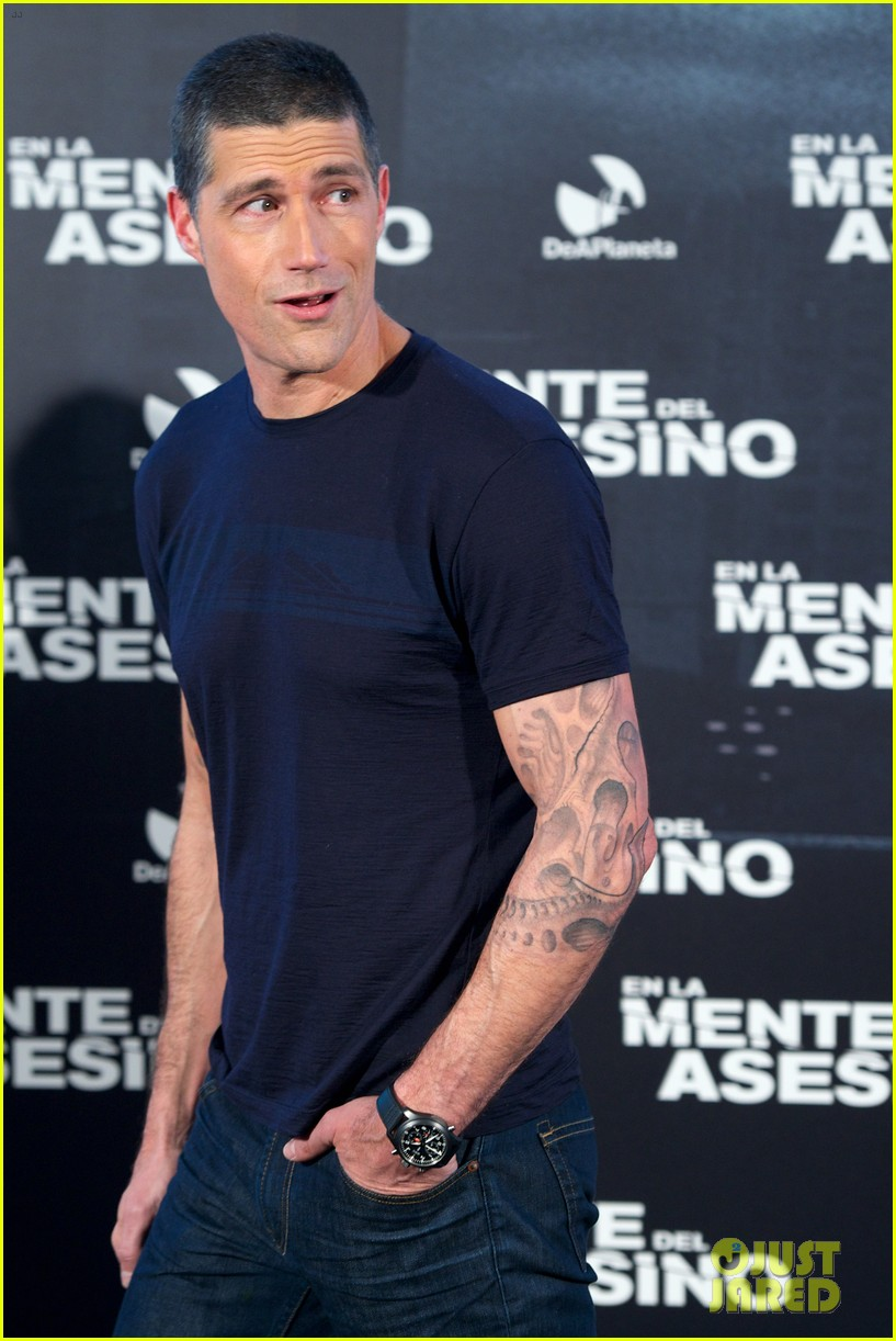 matthew fox alex cross madrid photocall 19
