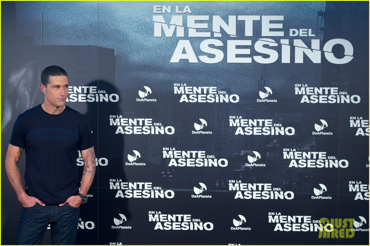 matthew fox alex cross madrid photocall 24