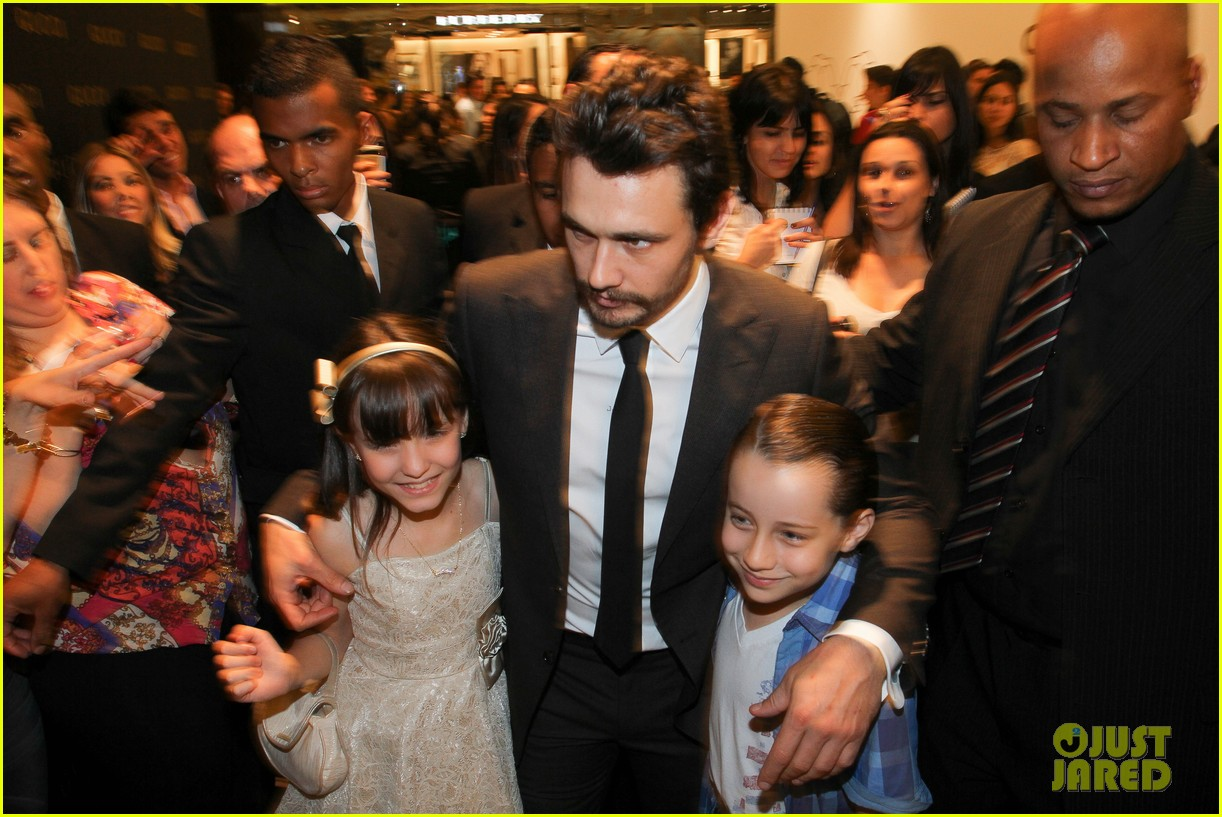 james franco gucci store opening in sao paulo 12