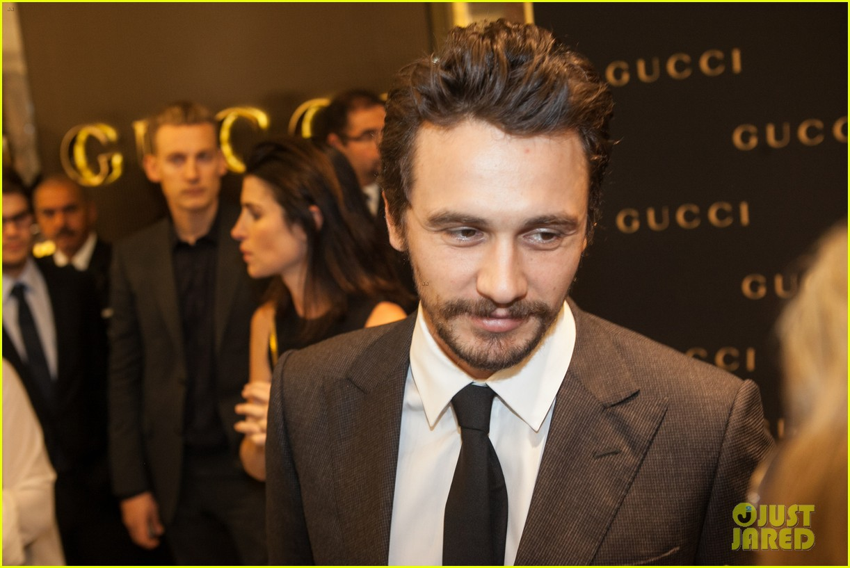 james franco gucci store opening in sao paulo 18