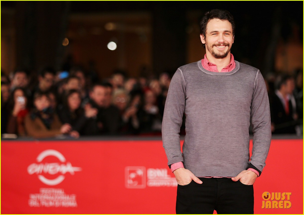 james franco rome film festival attendee 04
