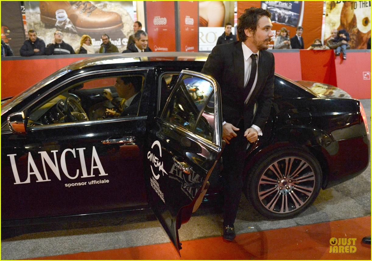 james franco tar rome film festival premiere 07