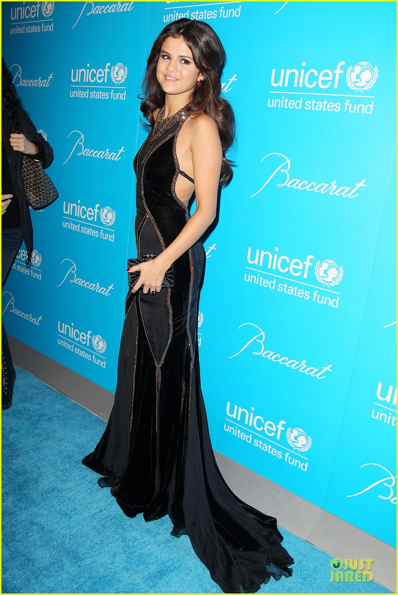 katy perry & selena gomez unicef snowflake ball 142764948