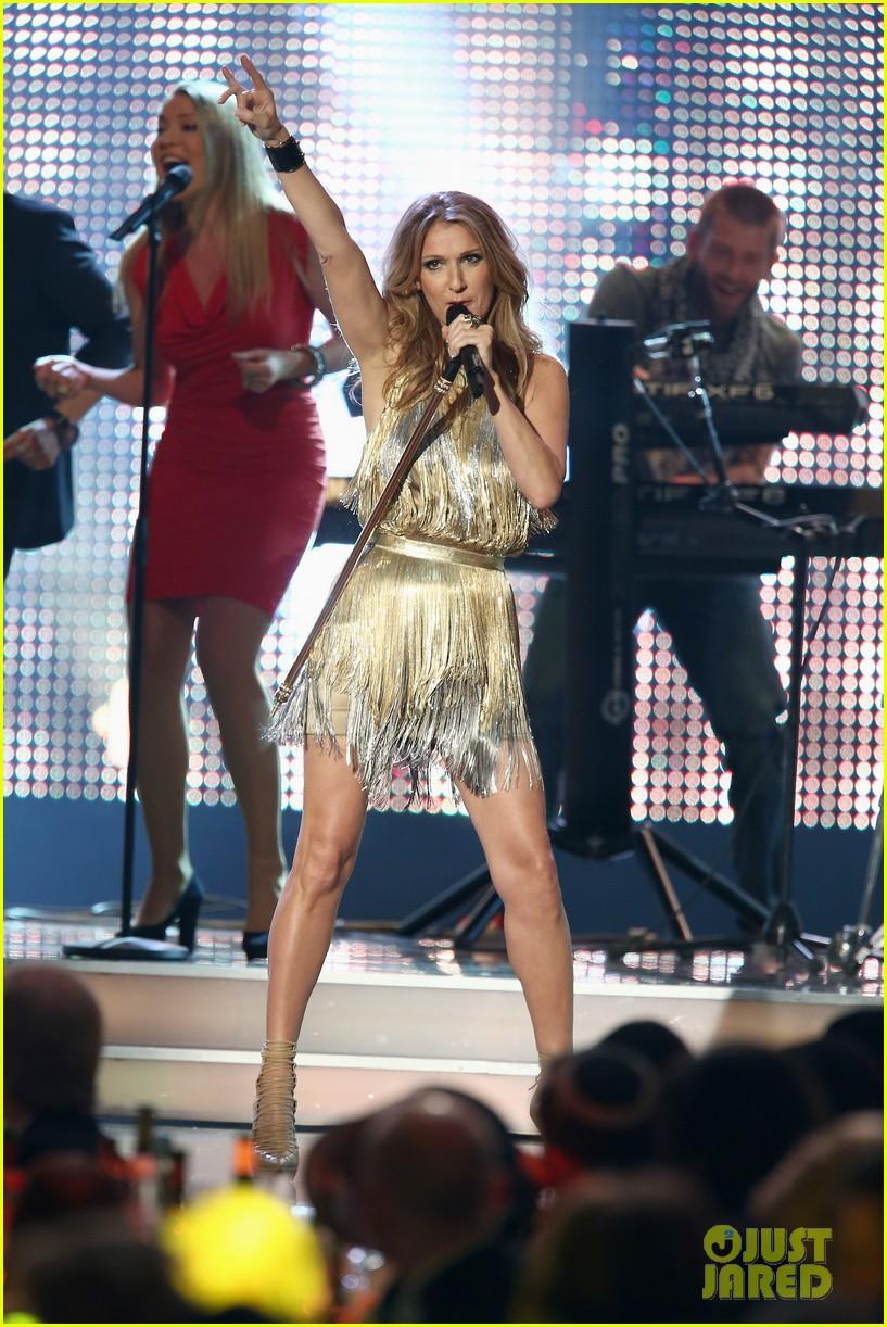 salma hayek celine dion bambi awards 2012 13