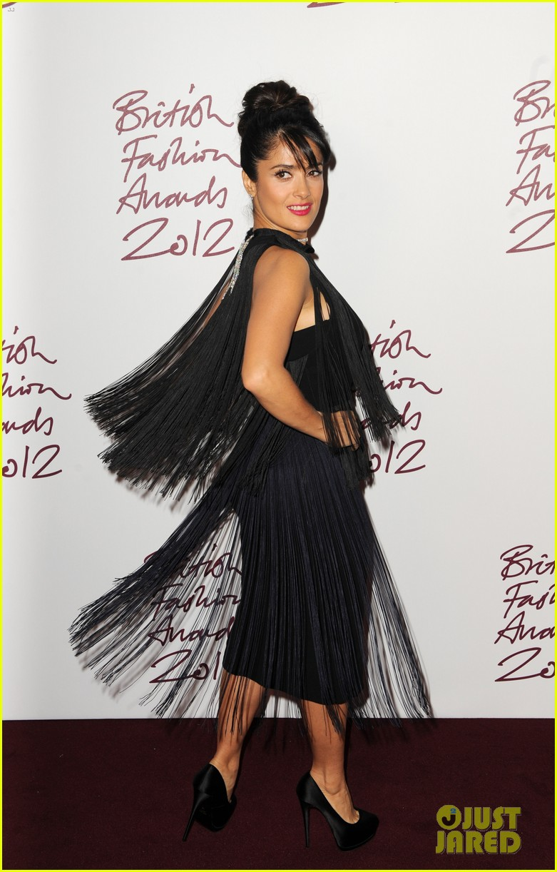 salma hayek rita ora british fashion awards 2012 122764765