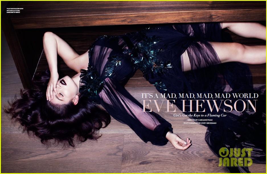 eve hewson stuns in flaunt magazine 01