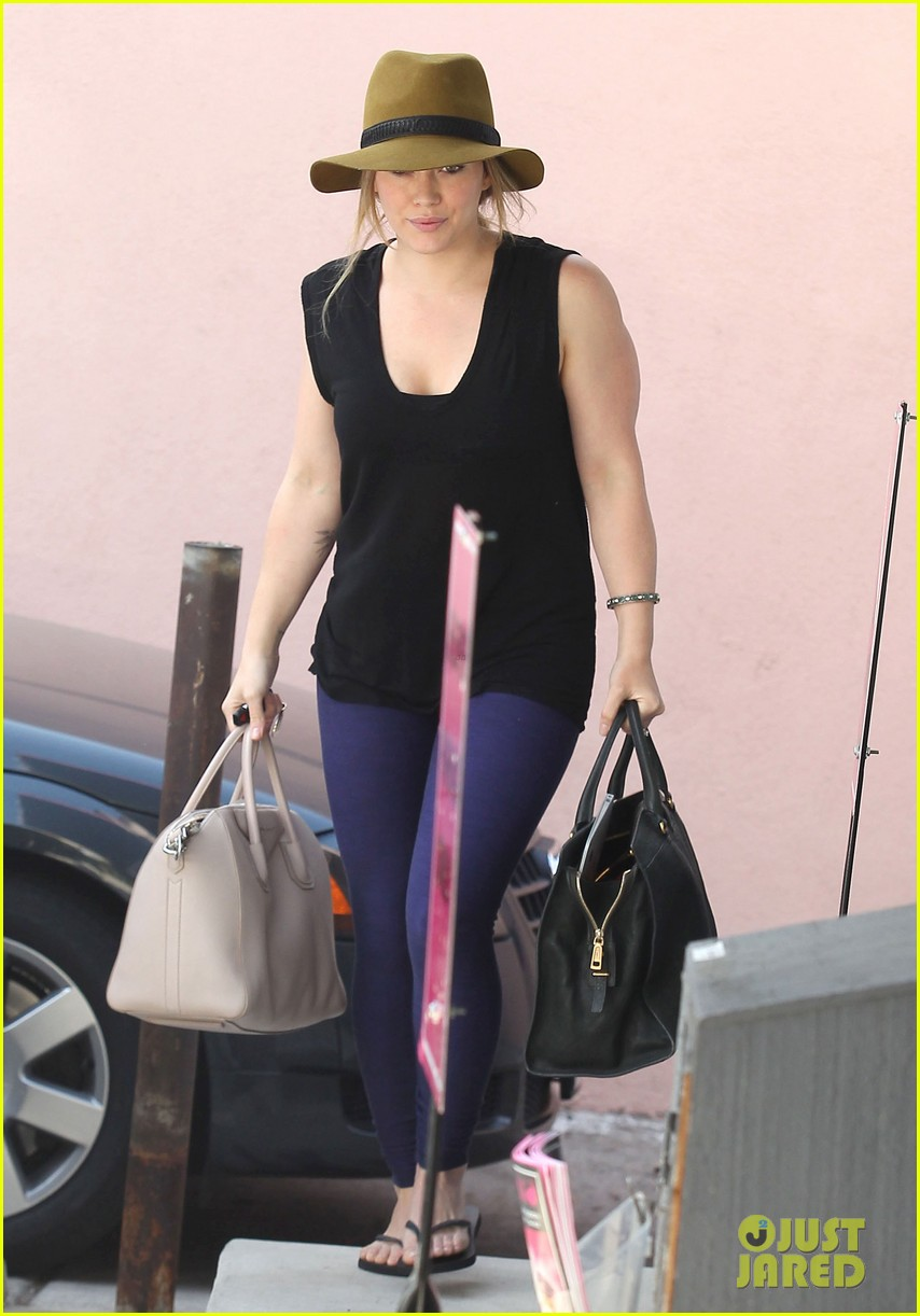 hilary duff chris mcmillan salon appointment 11