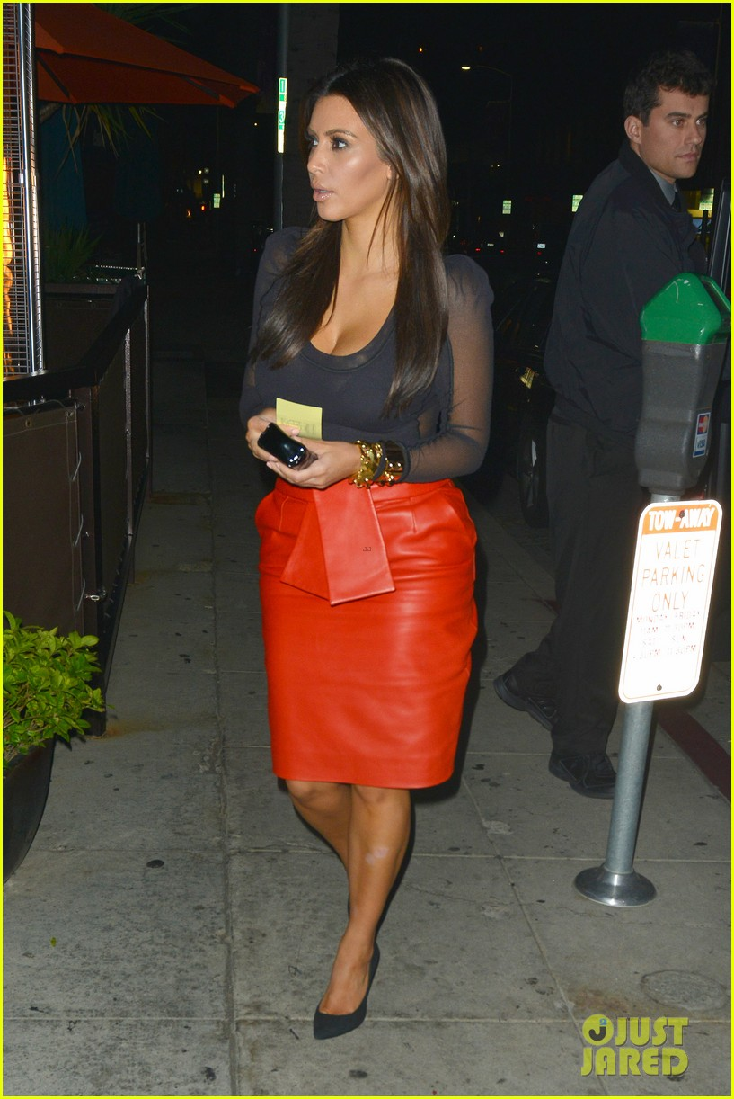 kim kardashian kanye west x factor dinner date 03