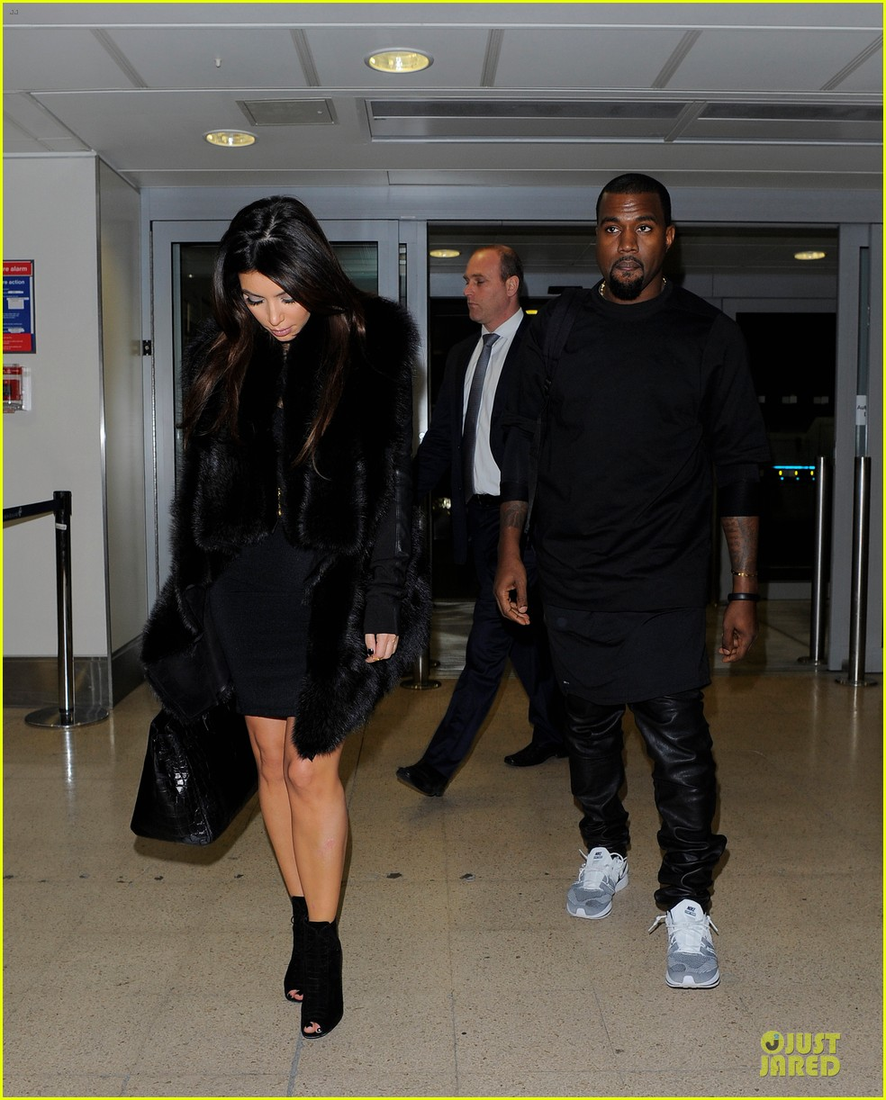 kim kardashian kanye west germany bound couple 03