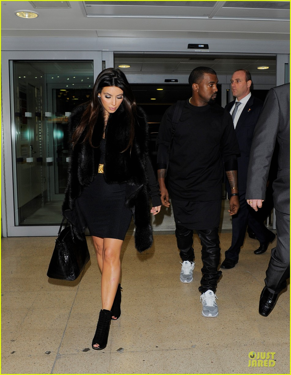 kim kardashian kanye west germany bound couple 08