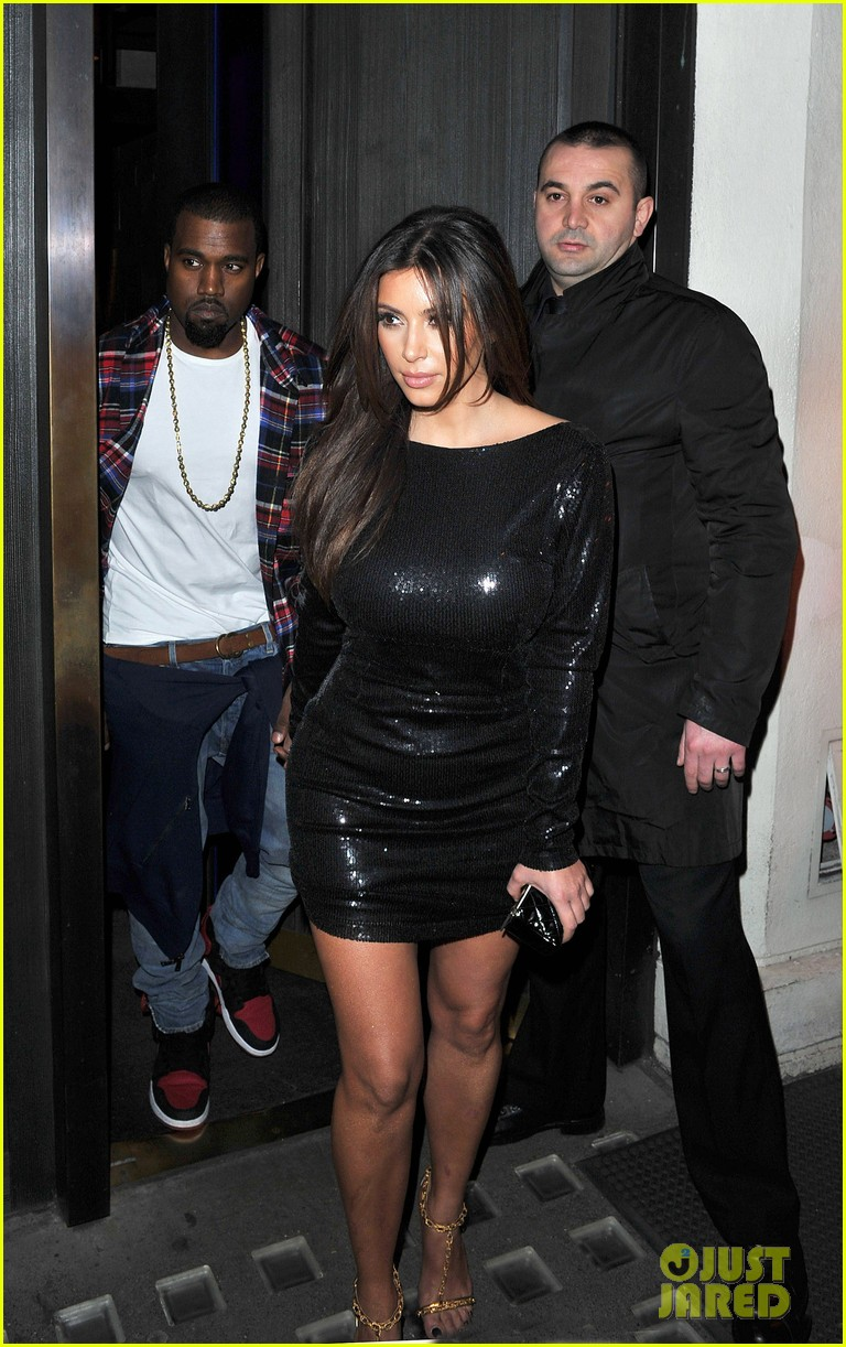kim kardashian hakkasan dinner with kanye west 10