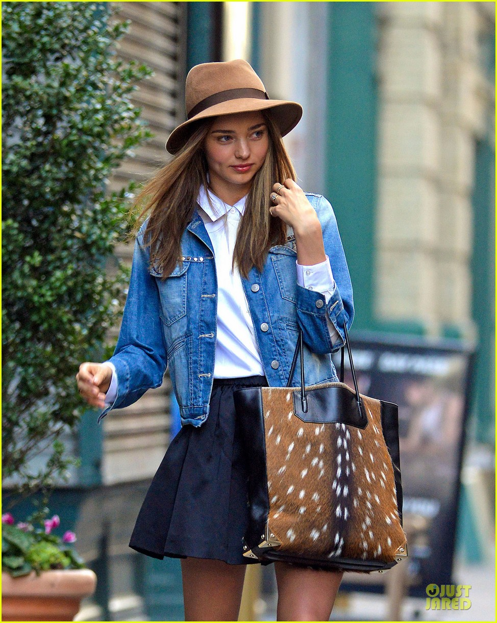 miranda kerr denim day in new york 022763194