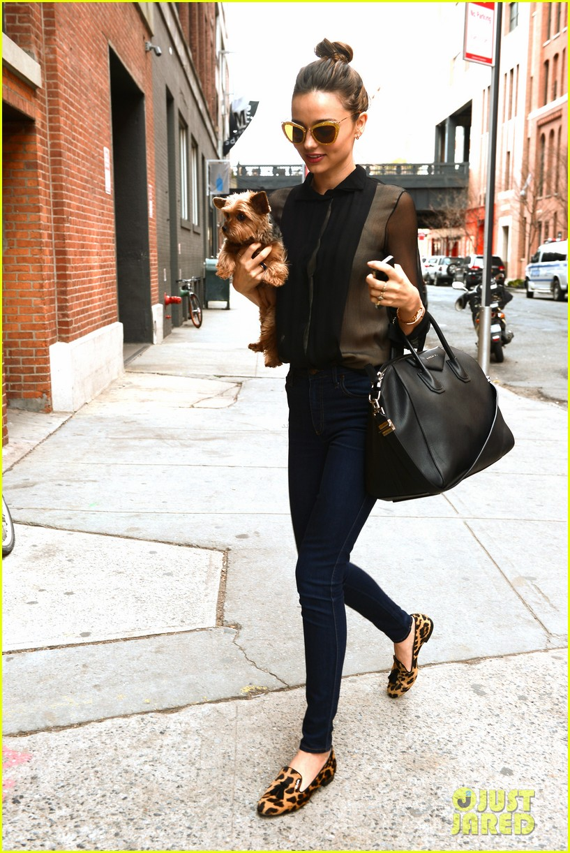 miranda kerr sunday morning with frankie 052763614