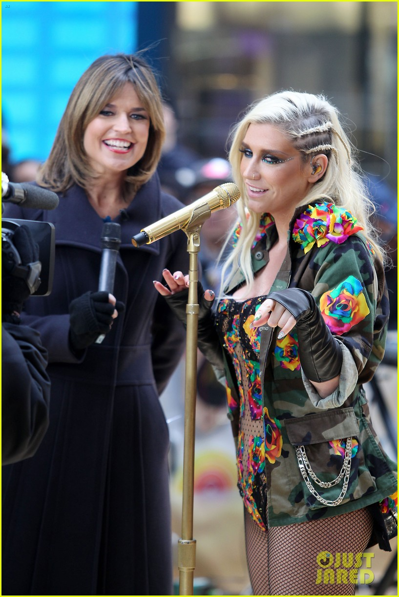 kesha today show concert watch now 17