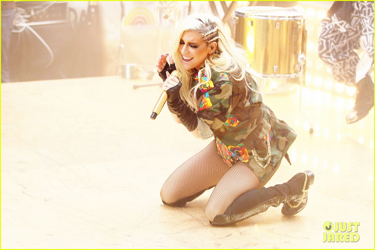 kesha today show concert watch now 252761407