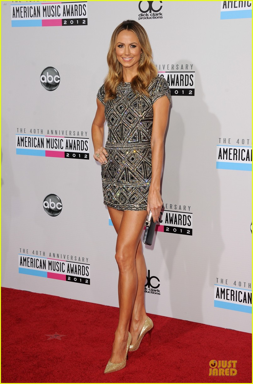 stacy kiebler amas red carpet 01