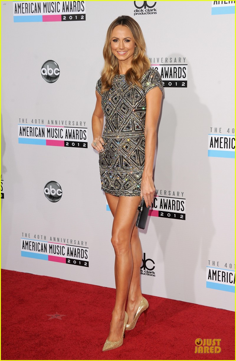stacy kiebler amas red carpet 09