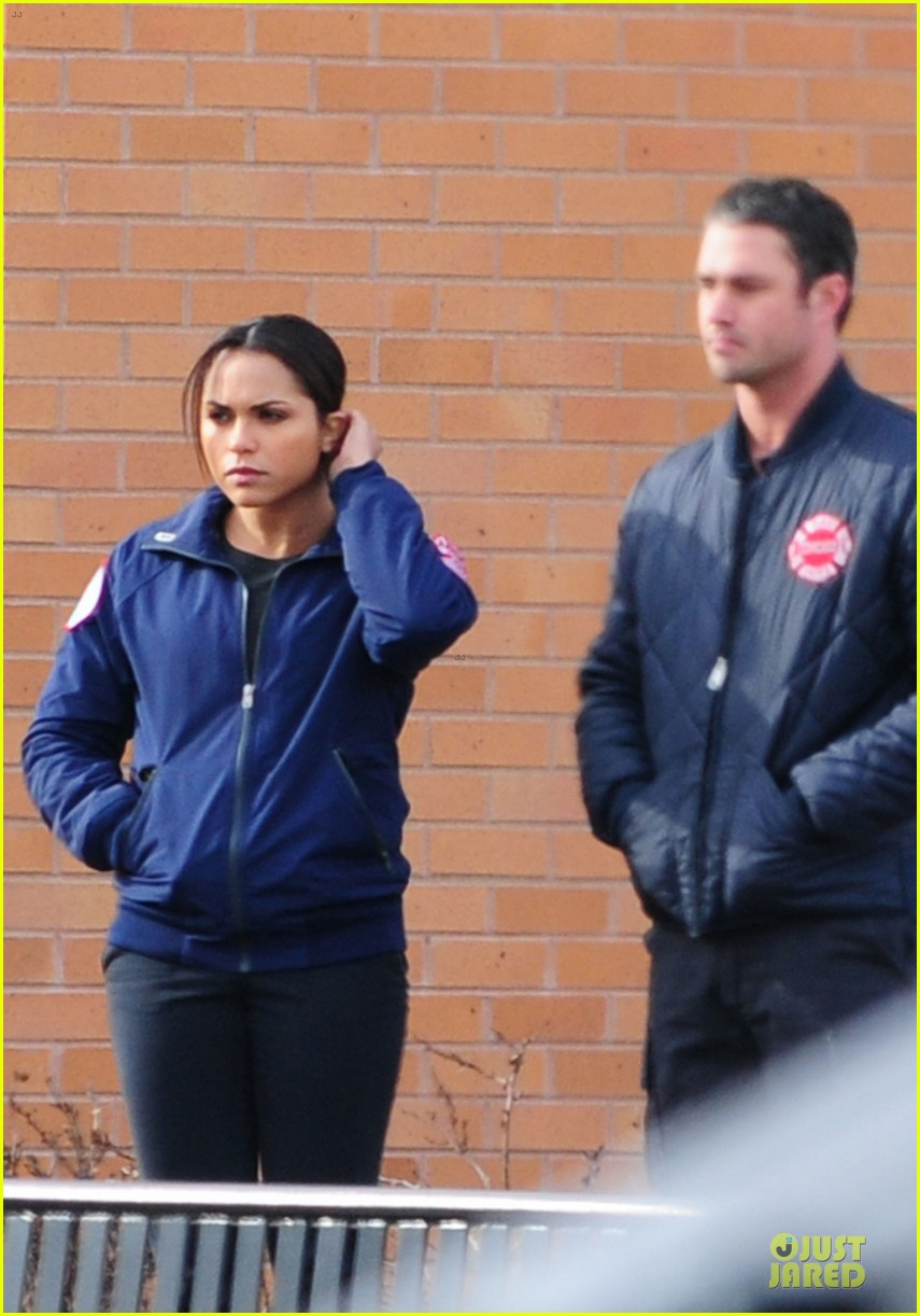 taylor kinney jesse spencer chicago fire set 09