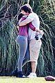 mark walhberg rhea durham soccer game kisses 04
