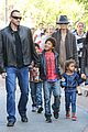 heidi klum holiday shopping at the grove 05