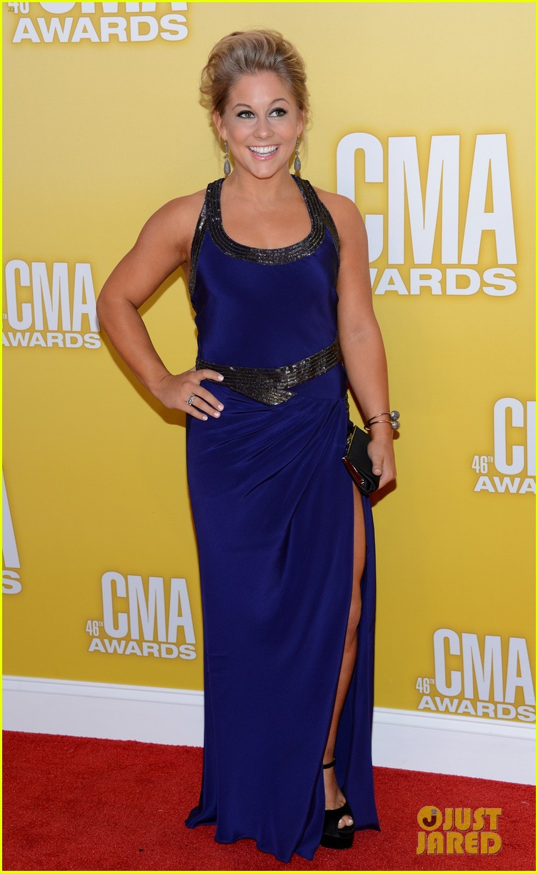 jana kramer shawn johnson cmas 2012 03
