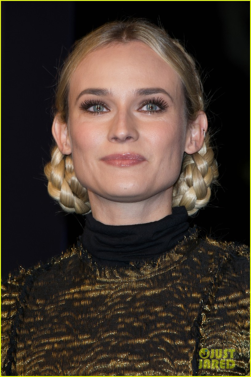 diane kruger champs elysees christmas lights launch 20