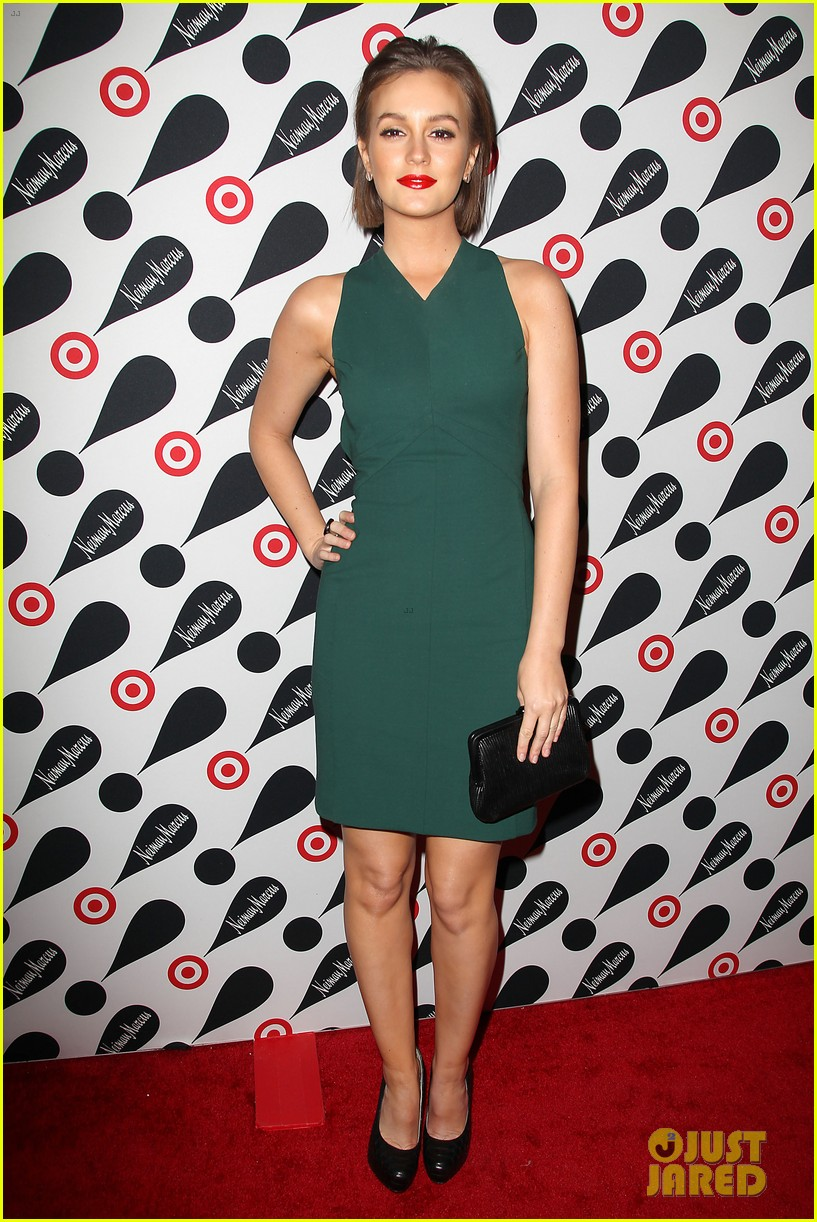 leighton meester shay mitchell target twosome 01