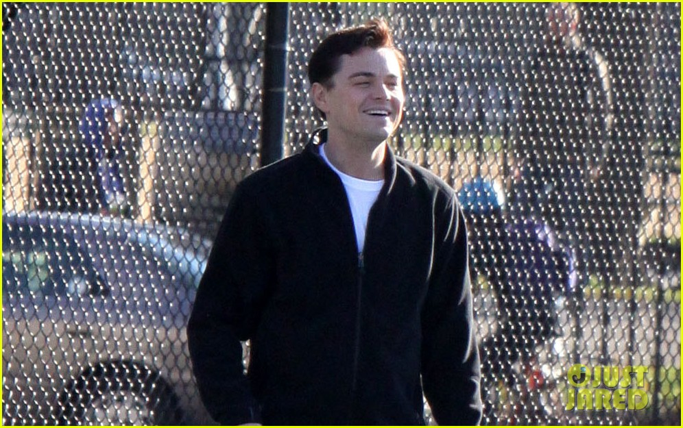 leonardo dicaprio wolf of wall street tennis match 032757462