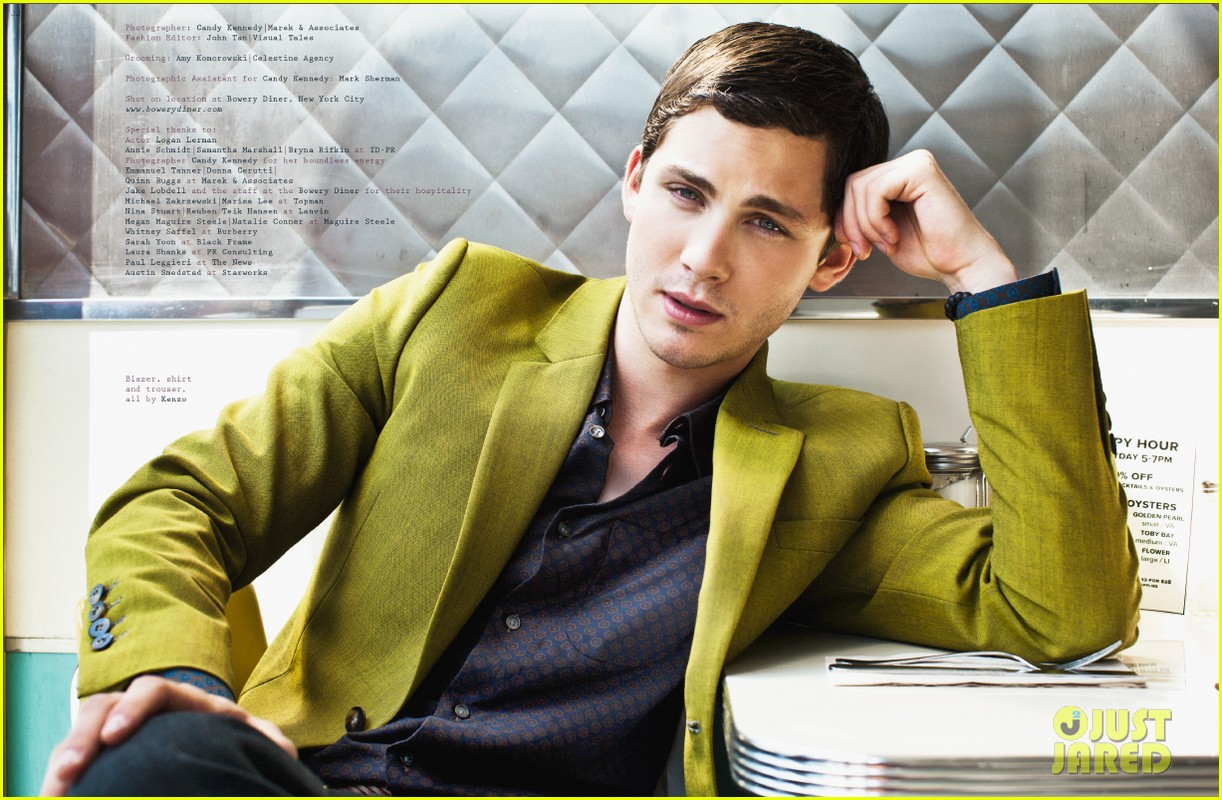 logan lerman covers visual ties magazine 18