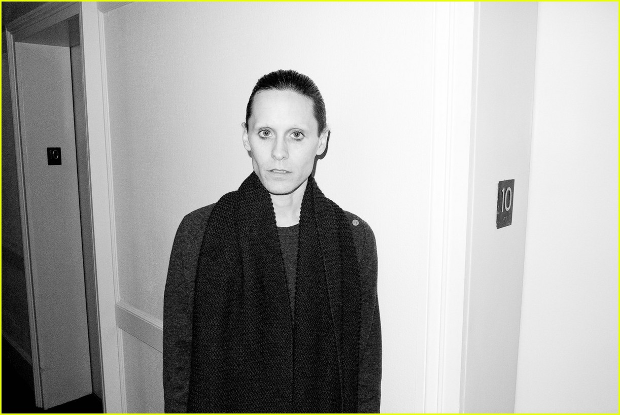 Jared Leto Reveals Weight Loss Shirtless for Terry Richardson Jared Leto, Terry Richardson Photos Just Jared