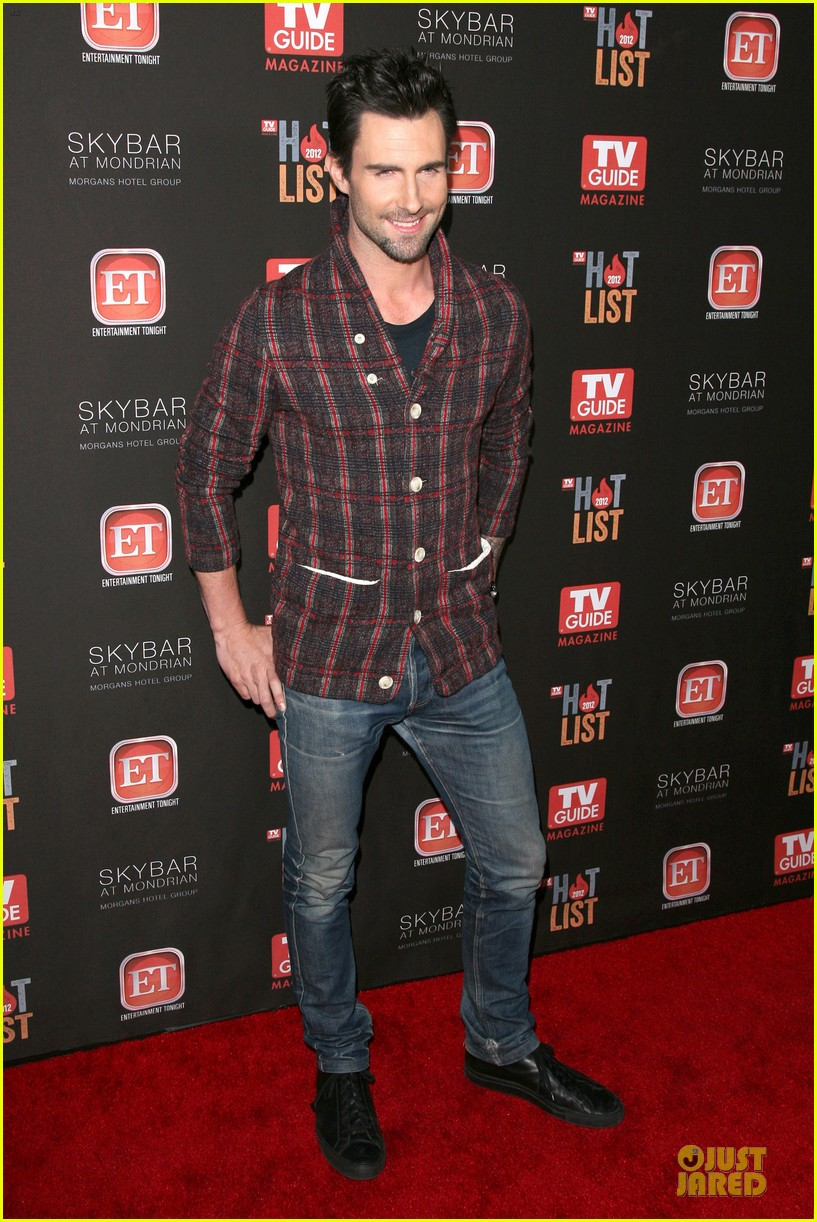 adam levine tv guide magazine hot line party 01