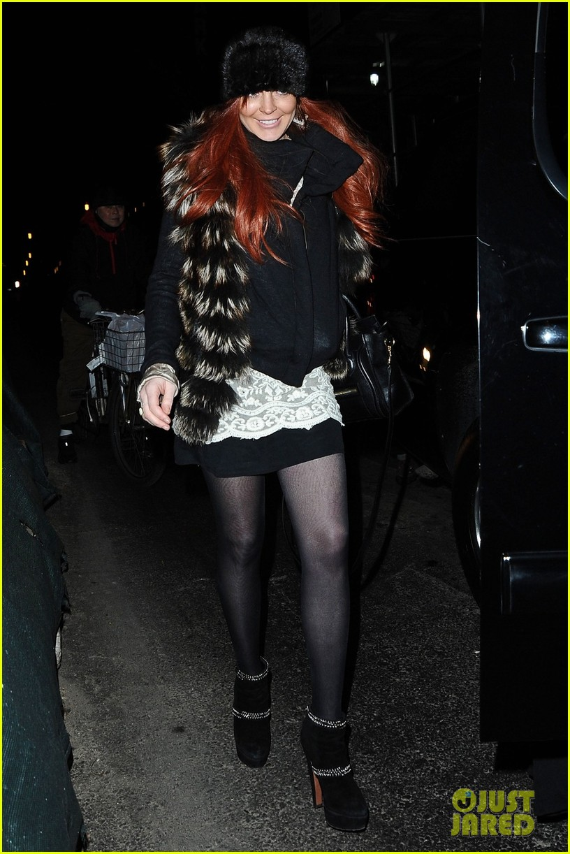 lindsay aliana lohan night out in new york city 03
