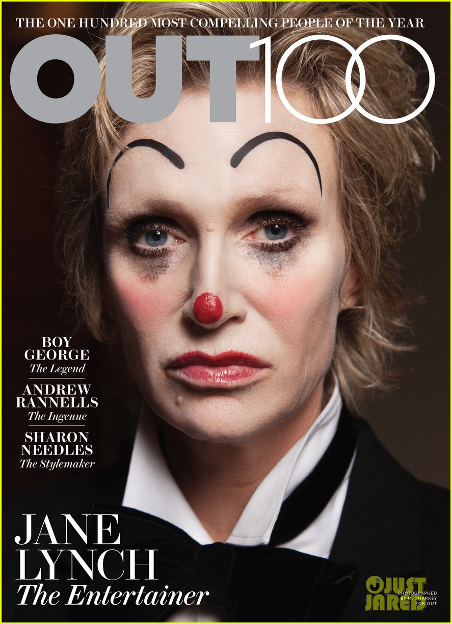 jane lynch covers out 100 issue exclusive 01