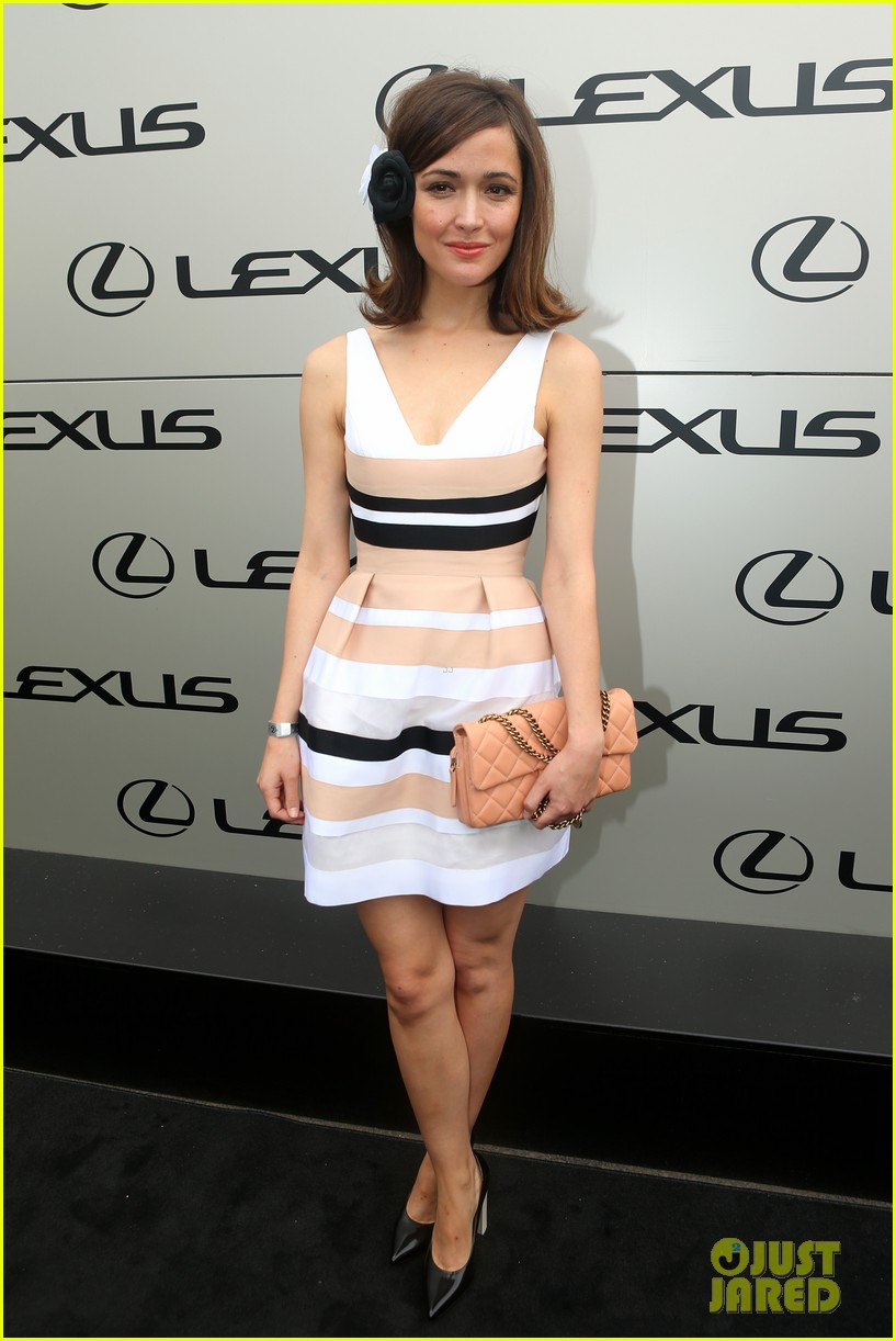 rose byrne ashley madekwe melbourne cup attendees 04