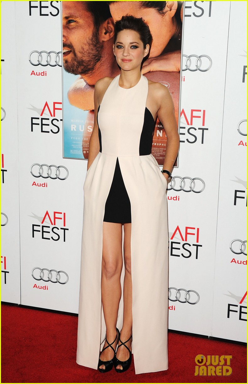 marion cotillard rust and bone afi fest premiere 042751745