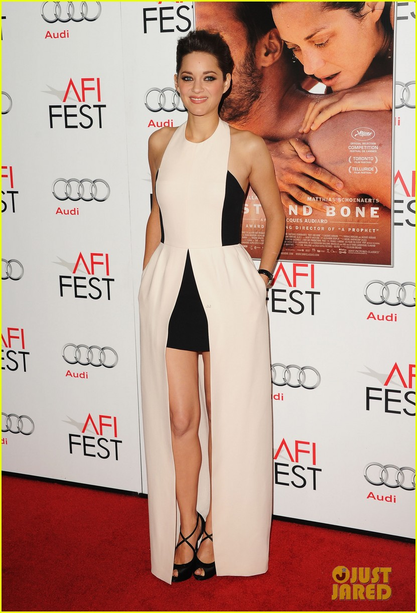 marion cotillard rust and bone afi fest premiere 08
