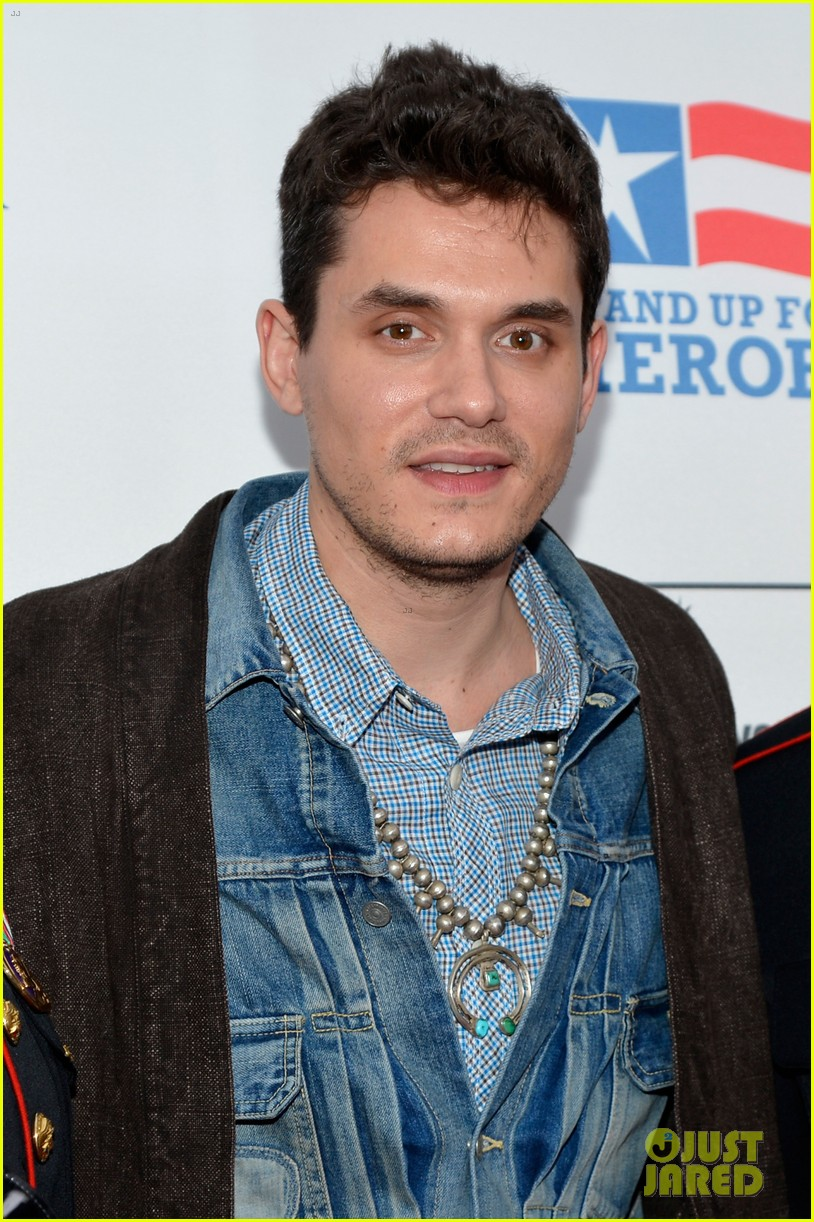 john mayer allison williams stand up for heroes event 092754098