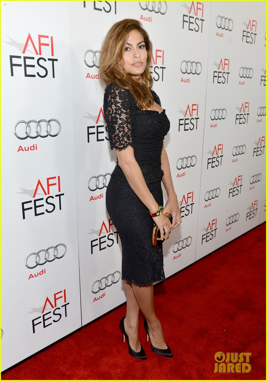eva mendes holy motors afi screening 07