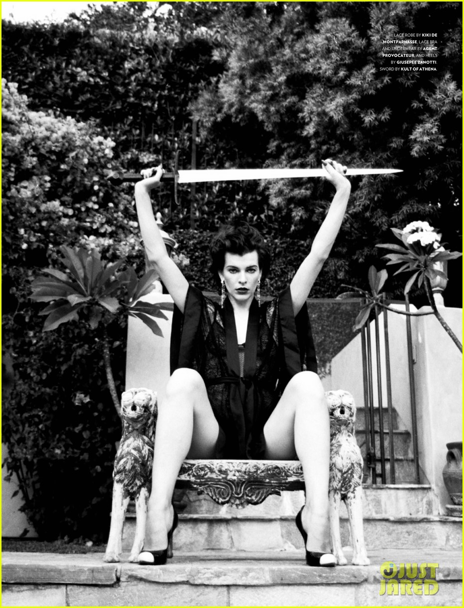 milla jovovich flaunt magazine feature 08