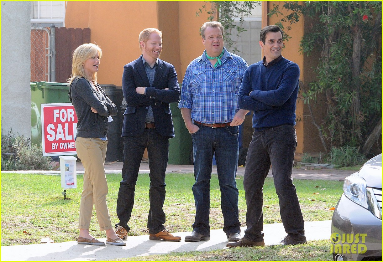 modern family filming scenes 11