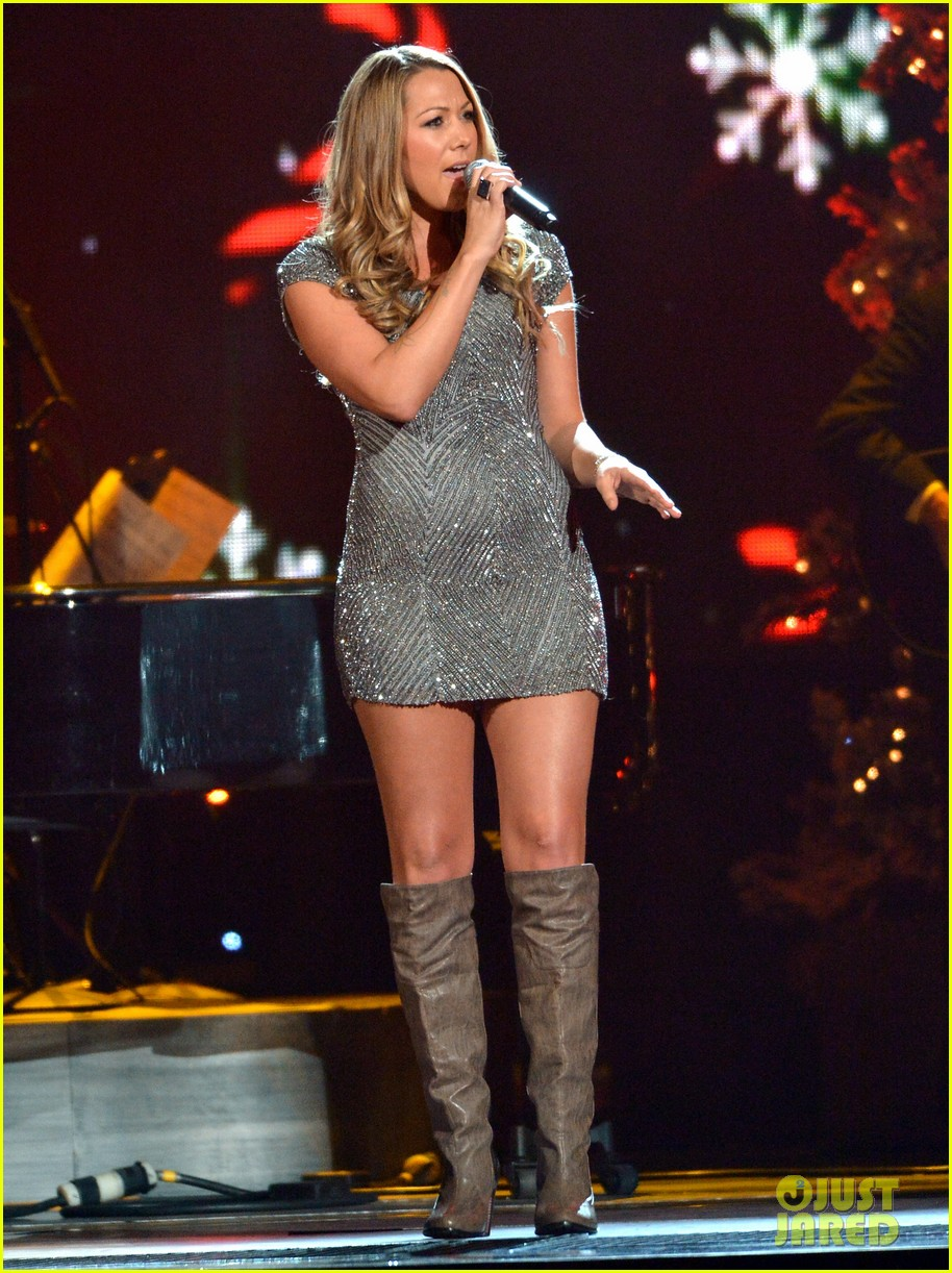 keith urban jennifer nettles country christmas taping 182750597