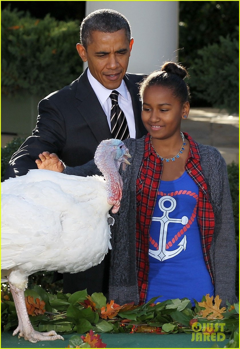 president obama kids pardon thanksgiving turkey 01